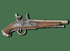 Пистолет кремниевый, пиратский, 18 век