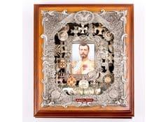 Ключница настенная деревянная Николай II (средняя)