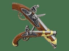 Пистолет французский кавалерийский 1800 г.