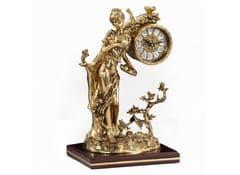 Часы настольные Дама у дерева