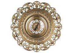 Часы настенные - тарелка Барокко