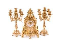 Часы каминные Барокко и 2 канделябра