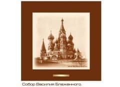 Панно декоративное рисунок Собор Василия Блаженного