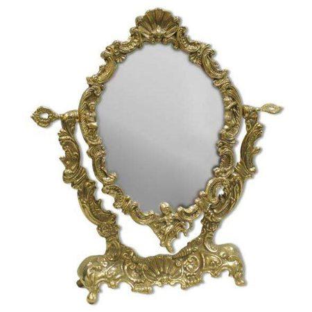 Зеркало настольное косметическое Ракушка