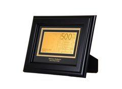 Банкнота 500 Euro на панно
