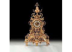 Часы каминные Ажур