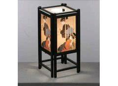 Японская  лампа Гейши