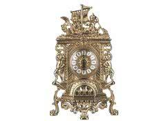 Часы каминные антикварные Ладья