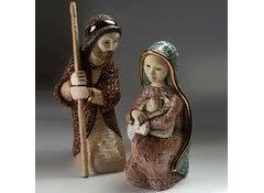 Набор фигурок из керамики Иосиф и Мария-2