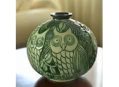 Керамическая ваза для цветов De Rosa Rinconada Совы