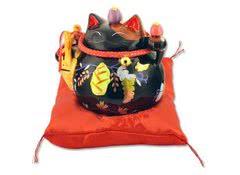 Манеки неко - кот копилка Защита от злых сил, удача и много клиентов!