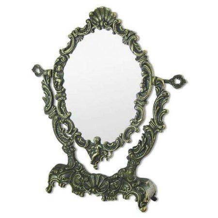 Зеркало настольное на подставке Ракушка