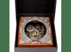 Декоративное панно из металла Петр I