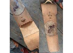 Кожаный колчан для шампуров