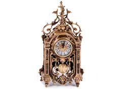 Часы каминные антикварные с маятником