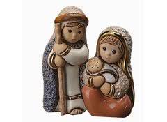 Набор статуэток из керамики Иосиф и Мария