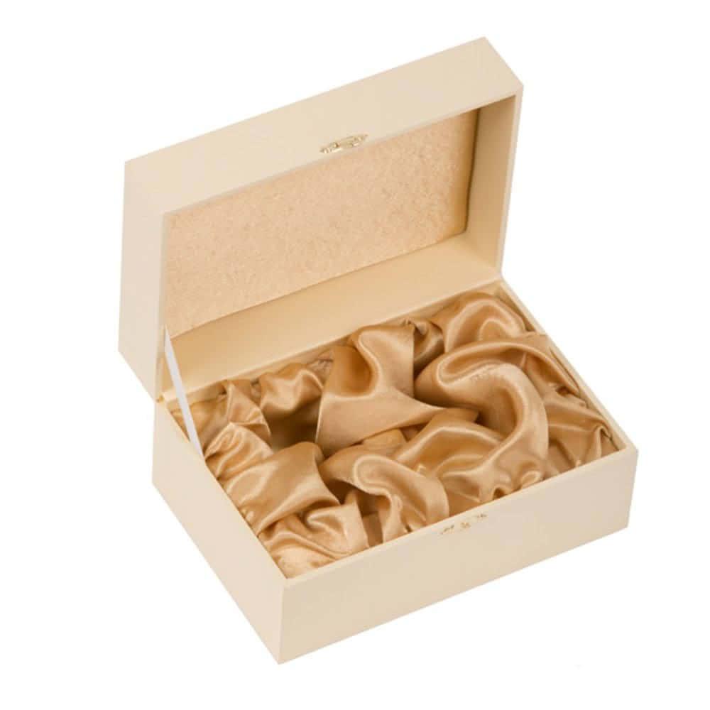 Подарочный футляр под 2 стопки (цв. слоновая кость)