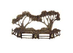Вешалка - ключница Деревья