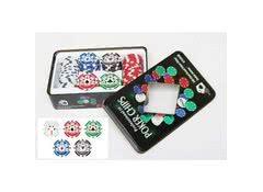 Набор фишек для покера 100