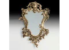 Зеркало настенное Д.Жуан в бронзовой оправе