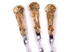 Подарочные шампура с животными Охота, 6 шт