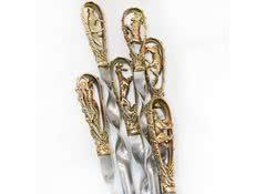 Подарочные шампура с головами животных Звери-2