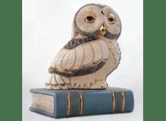 Декоративная фигурка Сова на книге
