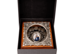 Настенное панно из металла Николай II