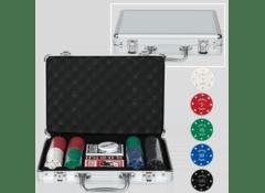 Набор для покера 200 фишек с номиналом